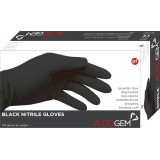 Image for Large Black Nitrile Gloves