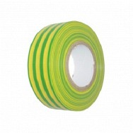 Image for 19mm x 20m PVC Tape - Green/Yellow