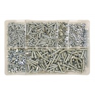 Image for Assorted BA Screws & Nuts - Steel
