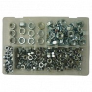 Image for Assorted Metric Plain Steel Nuts