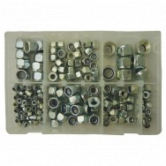 Image for Assorted Metric & Imperial Nyloc Steel Nuts