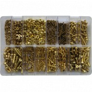 Image for Assorted BA Screws & Nuts - Brass