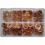 Image for Assorted Copper Washers - Metric
