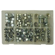 Image for Assorted Metric Nyloc Steel Nuts