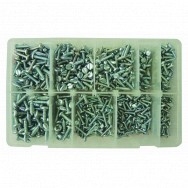Image for Assorted Self Tapping Screws - Pozi Pan Head No.4-10