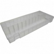 Image for Empty Transparent Plastic Box - Large