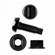 Image for Black Nylon Screws & Black Nylon Nuts