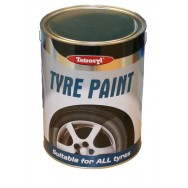 Image for Quick Drying Tyre Black Paint